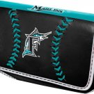 Florida Marlins Baseball Leather iPhone Blackberry PDA Cell Phone Case