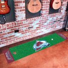Colorado Avalanche Golf Putting Green Mat Carpet Runner