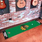 Chicago Blackhawks Golf Putting Green Mat Carpet Runner