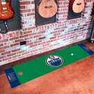 Edmonton Oilers Golf Putting Green Mat Carpet Runner