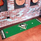 Pittsburgh Penguins Golf Putting Green Mat Carpet Runner