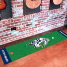 Nashville Predators Golf Putting Green Mat Carpet Runner