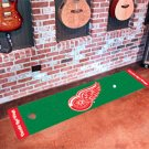 Detroit Red Wings Golf Putting Green Mat Carpet Runner