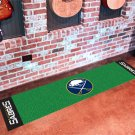 Buffalo Sabres Golf Putting Green Mat Carpet Runner