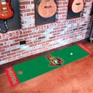 Ottawa Senators Golf Putting Green Mat Carpet Runner