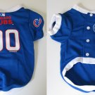 Chicago Cubs Pet Dog Baseball Jersey w/Buttons Small