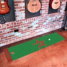 Houston Astros Golf Putting Green Mat Carpet Runner