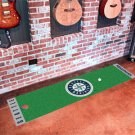 Seattle Mariners Golf Putting Green Mat Carpet Runner
