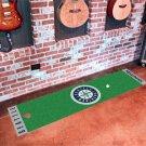 Seattle Mariners Golf Putting Green Mat Carpet Runner