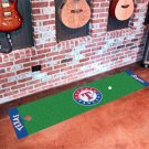 Texas Rangers Golf Putting Green Mat Carpet Runner