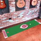 Cincinnati Reds Golf Putting Green Mat Carpet Runner
