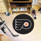 "Philadelphia Flyers 29"" Puck Mat Rug"