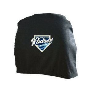 San Diego Padres Auto Car Head Rest Covers Set Gift