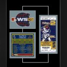 Chicago White Sox 2005 World Series Replica Ticket & Patch Frame