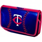Minnesota Twins Baseball Leather iPhone Blackberry PDA Cell Phone Case