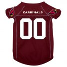 Arizona Cardinals Pet Dog Football Jersey Small v3