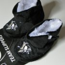 Pittsburgh Penguins Fuzzy Baby High Boot Slippers 12-24 Months