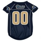 St. Louis Rams Pet Dog Football Jersey Small v3