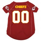 Kansas City Chiefs Pet Dog Football Jersey Medium