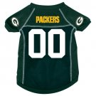 Green Bay Packers Pet Dog Football Jersey Medium v3