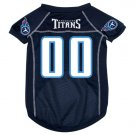 Tennessee Titans Pet Dog Football Jersey Medium
