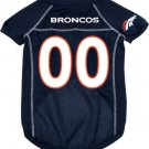 Denver Broncos Pet Dog Football Jersey Large v3