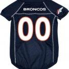 Denver Broncos Pet Dog Football Jersey Large v3