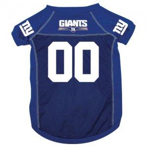 New York Giants Pet Dog Football Jersey Large v3