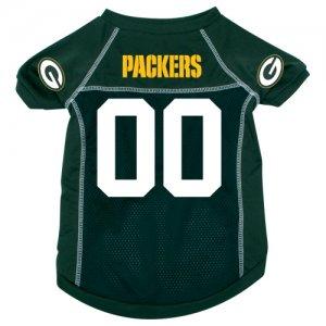 Green Bay Packers Pet Dog Football Jersey XL v3
