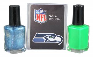 Seattle Seahawks Team Color Nail Polish Set