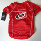 Carolina Hurricanes Pet Dog Hockey Jersey Large v3