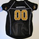 Missouri University Tigers Pet Dog Football Jersey Large
