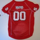 North Carolina State University Wolfpack Pet Dog Football Jersey Large