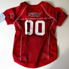 Southern Illinios University Salukis Pet Dog Football Jersey Large