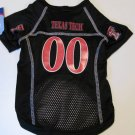Texas Tech University Red Raiders Pet Dog Football Jersey XL