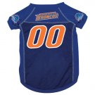 Boise State University Broncos Pet Dog Football Jersey XL