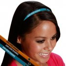 San Jose Sharks Littlearth Fan-tastic Elastic Hair Tie Head Band 3-PK