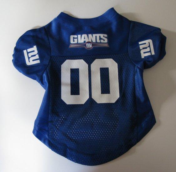 New York Giants Pet Dog Football Jersey Premium Small