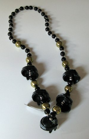 Pittsburgh Penguins Thematic Beads Necklace w/ Helmets