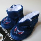 Washington Capitals Fuzzy Baby High Boot Slippers 6-9 Months