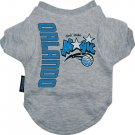 Orlando Magic Pet Dog T-Shirt Tee Gray Medium