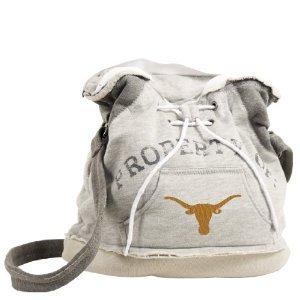 Texas University Longhorns Hoodie Sweatshirt Duffel Purse