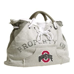 Ohio State University Buckeyes Hoodie Sweatshirt Tote Bag Purse