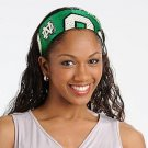 North Dakota University Fighting Sioux Littlearth FanBand Football Jersey Headband Cute