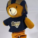 St. Louis Rams Musical Team Pal Plush Bear Pull Down Baby Toy