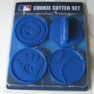 Chicago Cubs Logo Glove Baseball Cookie Cutter Set