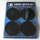 Chicago White Sox Logo Glove Baseball Cookie Cutter Set