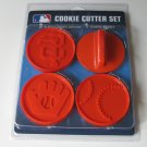 San Francisco Giants Logo Glove Baseball Cookie Cutter Set