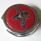 Florida Panthers Ladies Compact Mirror w/Floral Design