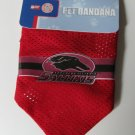 Southern Illinois University Salukis Pet Dog Football Jersey Bandana S/M